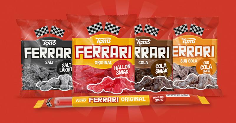 En ny Ferrari-serie från Toms